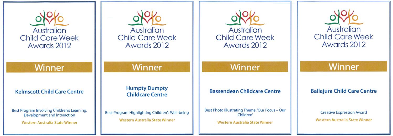 Childcare award winners 2012, Acacia Hill - childcare community